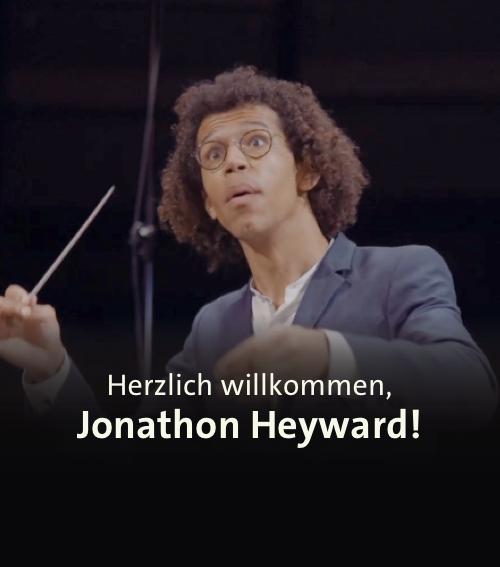 Herzlich Willkommen <br><b>Jonathon Heyward!</b>